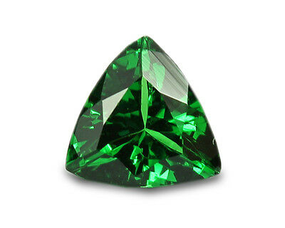 0.34 Carats Natural Tsavorite Loose Gemstone - Trilliant