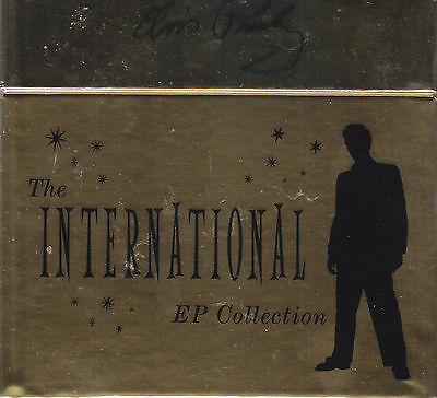 """ELVIS PRESLEY - the international ep collection 11 7"""" box"""