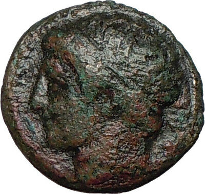 Philip II Alexander the Great Dad OLYMPIC GAMES Ancient Greek Coin Horse i24474
