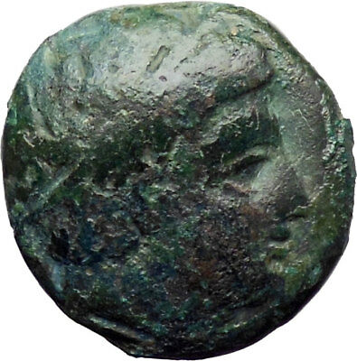 Philip II Alexander the Great Dad OLYMPIC GAMES Ancient Greek Coin Horse i30336