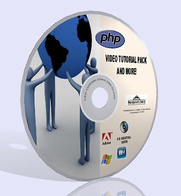 Complete PHP Programming Training Pack - Videos, Guidebooks, Software, More! CD