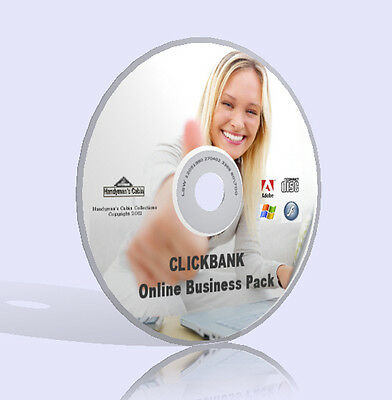 Clickbank Online Business Pack - Complete Videos, Guidebooks, Tools & More! DVD