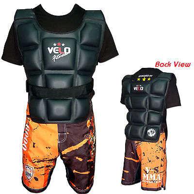 Weighted Jacket 6KG,10K,12KG Flex Gel Weight Training Exercise Vest & Training