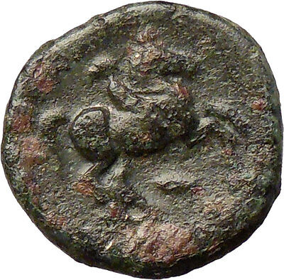 Philip II Alexander the Great Dad OLYMPIC GAMES Ancient Greek Coin Horse i28778