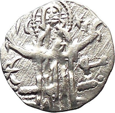 IVAN ALEXANDER MICHAEL ASEN IV 1331AD Rare Silver Coin JESUS CHRIST  i30209