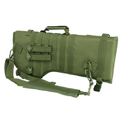 NcSTAR Tactical Hunting Rifle/Carbine MOLLE Over Shoulder Scabbard OD Green