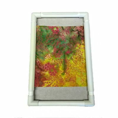 """R And R Universal Craft Frame Plastic 9"""" x 9"""" Embroidery Quilting Brand New"""