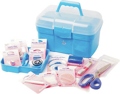 Hemline Deluxe Sewing Kit Includes All Basic Sewing Accessories