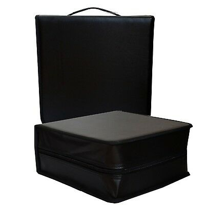 3 x 400er CD TASCHE MAPPE für 400 CD/DVD BLURAY BOX DJ CASE KOFFER WALLET DISCS