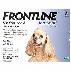 Frontline Top Spot For dogs 23-44 lbs 6 month supply