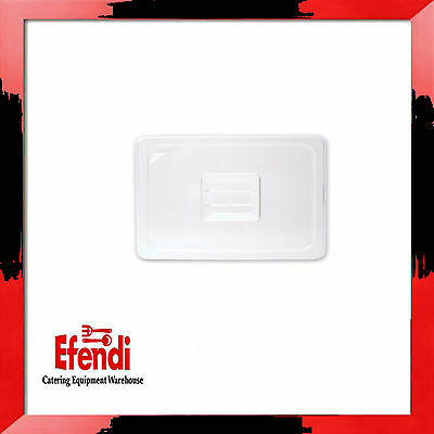 Standard Lid/Cover for 1/6 Sz BAIN MARIE Tray/Pan (x3)