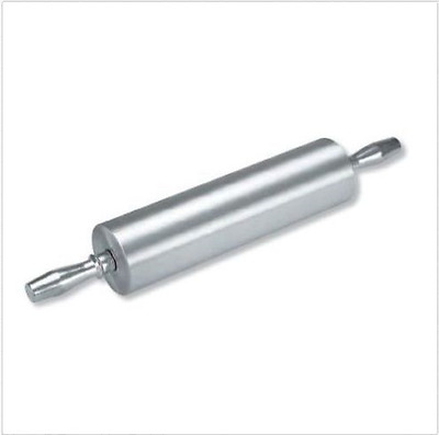 Heavy Duty Aluminium Rolling Pin - 550mm Overall Length Commercial Quality