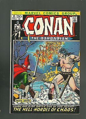 Conan the Barbarian Comic 15 VF/NM Bronze Age 1970's Barry Windsor Smith