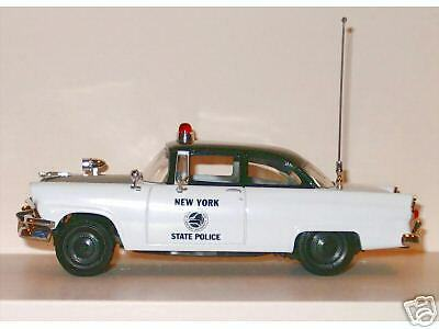 New 1st First Gear New York State Police Car 1956 Ford Mainline ULTRA RARE