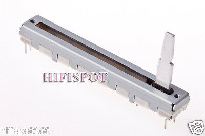 ALPS 45mm slide Fader 10K dual linear pot