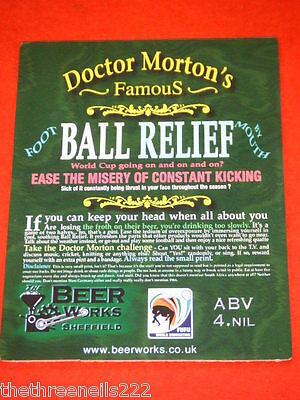 Beer Pump Clip - Doctor Morton's Ball Relief