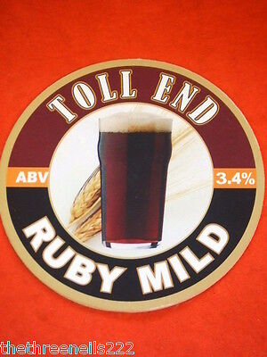 Beer Pump Clip - Toll End Ruby Mild