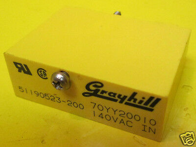 Grayhill Solid State Relay: 51190523-200 / 70YY20010 / 140 VAC IN