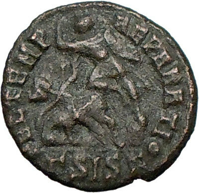 CONSTANTIUS II Constantine the Great son  Ancient Roman Coin  Horse man  i25471
