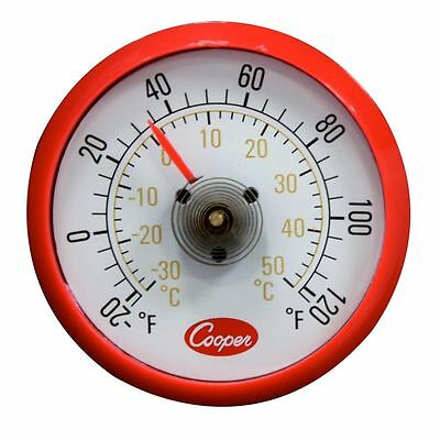 Cooper Atkins Cooler/refrigerator Thermometer Magnetic Back  #535 Free Shipping