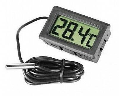 Digital Fridge Freezer Probe Thermometer Temperature Gauge Meter Monitor Display