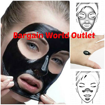 Cleansing Nose Face Blackhead Pore Cleaner Mineral Mud Removal Strips Mask Spots
