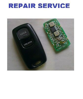 Mazda Remote Key Repair Service  Faulty Fix Microswitches replacement Refurbish