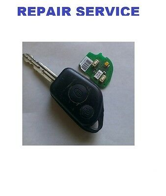 Citroen Picaso Remote Key Repair Service  Faulty Fix Microswitches replacement