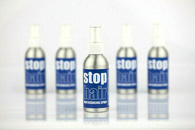 StopHair 100% Natural & Non-Toxic Unwanted Hair Reducing Spray. Use with Laser.