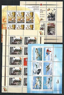 Russia 2005 Sammlung Collection ** All Stamps - 7 Blocks - 7 Mini Sheets 5 Scans