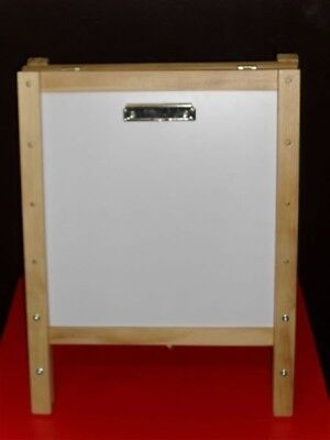 Sunbury adjustable 4 in 1  children's wooden easel /  painting & creative play