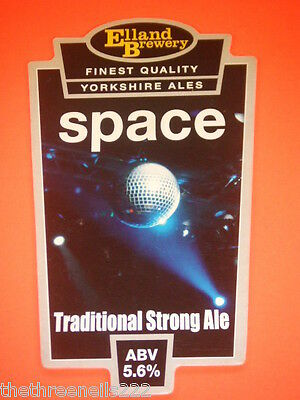 Beer Pump Clip - Space Traditional Strong Ale