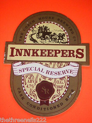 Beer Pump Clip - Innkeepers Special Reserve