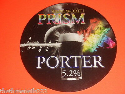 Beer Pump Clip - Wentworth Prism Porter