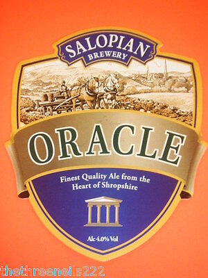 Beer Pump Clip - Salopian Oracle