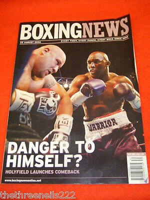 Boxing News - Holyfield Launches Comeback - Aug 25 2006