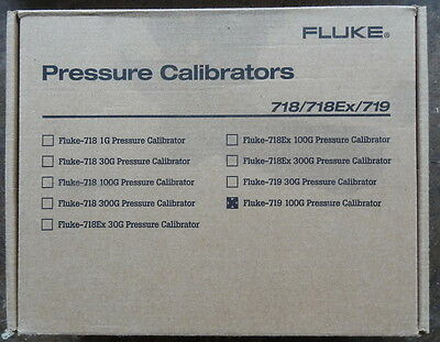 Fluke 719-100G  Portable Electric Pressure Calibrator Mfg 11/2012 New