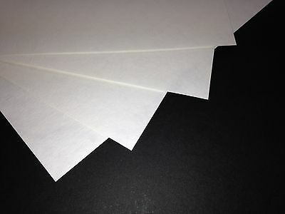 White Parchment Effect Card For Craft & Inkjet Printers 50 A4 Sheets 150gsm