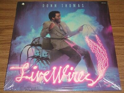DONN THOMAS - LIVE WIRES (Diggs, Seawind) - ULTRA RARE 1980 STILL SEALED LP ! !