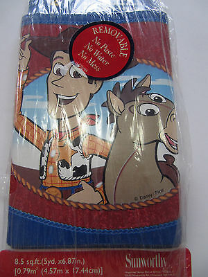 Toy Story 2  Woody's Roundup Wall Border By Sunworthy  Self Stick 5Yards Kwl2006