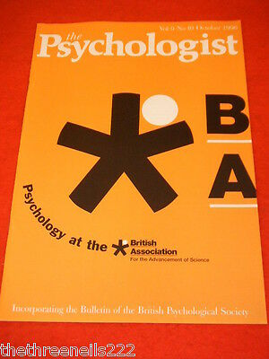 The Psychologist - British Association For Advancement Of Science - Oct 1996