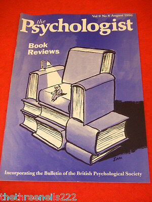 The Psychologist - Book Reviews - Aug 1996
