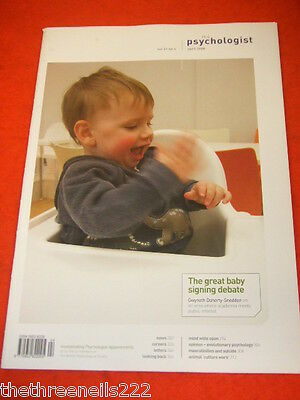 The Psychologist - Baby Signing Debate - April 2008