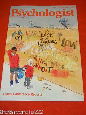 The Psychologist - Annual Conference Reports - June 1998