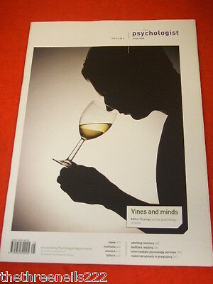 The Psychologist - The Psychology Of Wine - May 2008