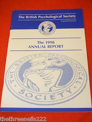 The British Psychological Society Annual Report 1998