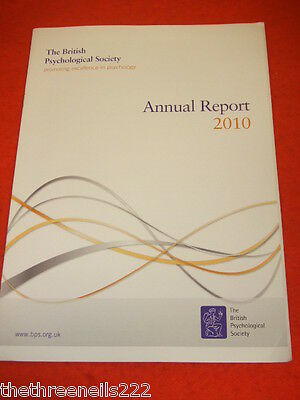 The British Psychological Society Annual Report 2010