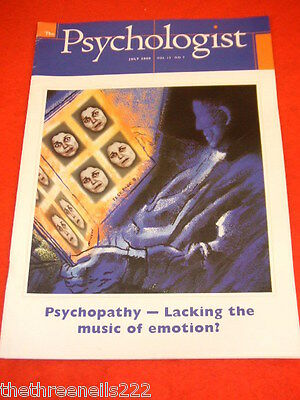 The Psychologist - Lacking The Music Of Emotion - July 2000