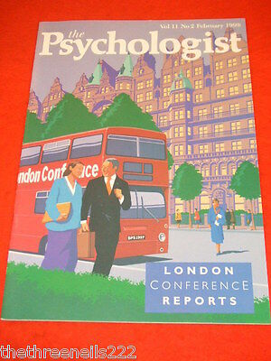 The Psychologist - London Conference Reports - Feb 1998