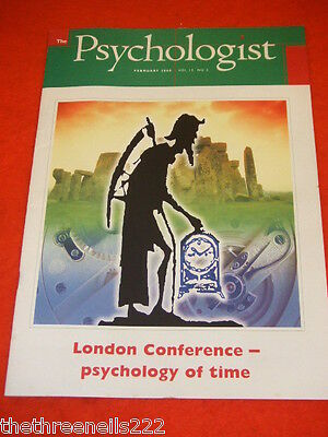 The Psychologist - Psychology Of Time Conference - Feb 2000